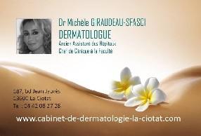 Dr Giraudeau-Sfasci Michèle, dermatologue, Cabinet de dermatologie  La Ciotat